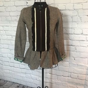 Persnickety tweed girls jacket